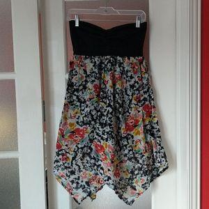 3/$50! Volcom strapless summer dress size M